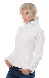Jacket Hooded Softshell BC Women